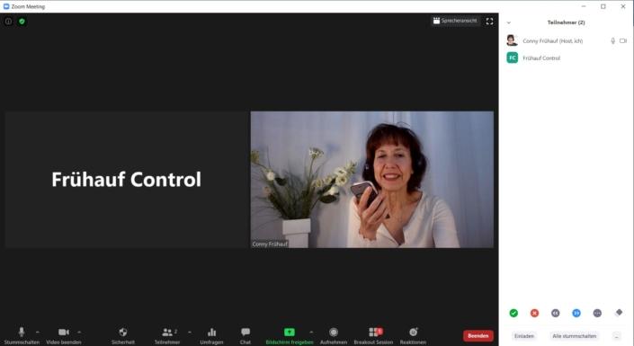 Online Fortbildung mit Conny Frühauf